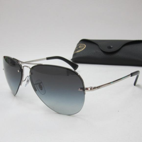 2de9a77161e RayBan RB 3449 003 8G Aviator Sunglasses  OLI804